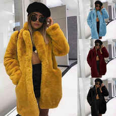 fur coat, Plus Size, fur, Winter