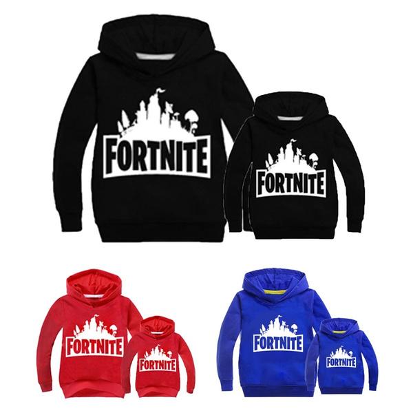 Fashion Fortnite Sweaters Hoodie Keep Warm Winter Home Wear Family Kids  Girls Boys Men Famaly Sweatshirt Hoodies