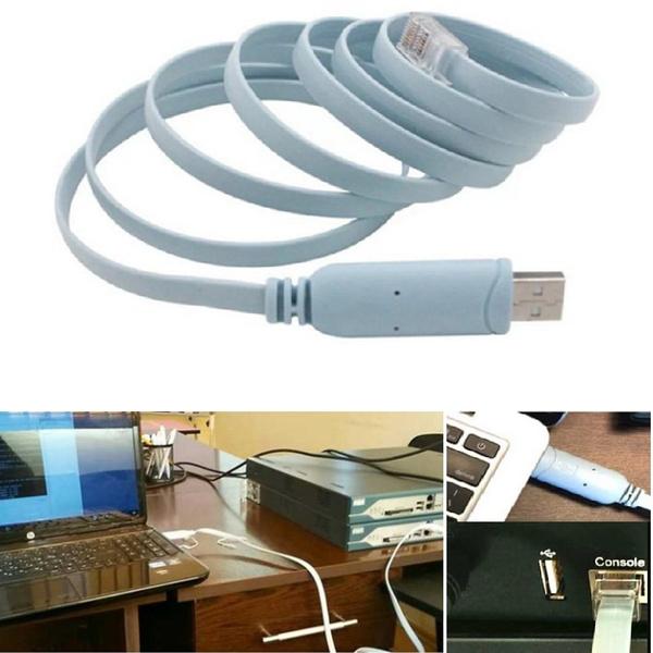 USB to RJ45 For Cisco USB Console Cable FTDI 744664241835 A7H5