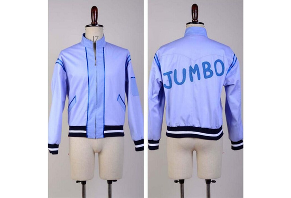 Crime Busters Bud Spencer Wilbur Walsh Cosplay Costume Uniform Jumbo Coat{COS}