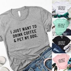 Café, Moda, Graphic Shirt, creative gifts