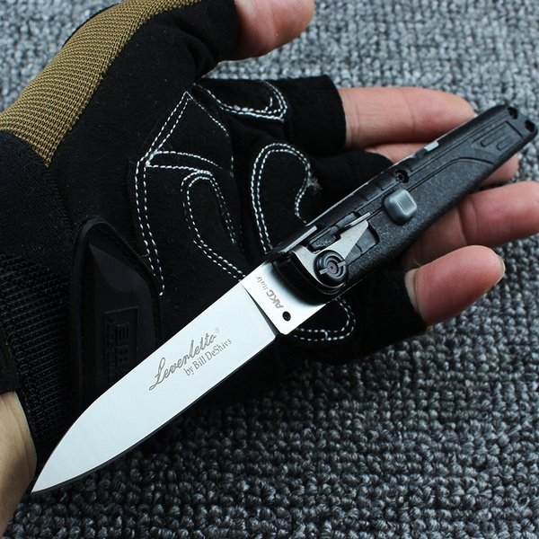 Italy AKC Spring Knife Switchblade Automatic Knives Quick Opening Assisted  Knives camping Tactical tools