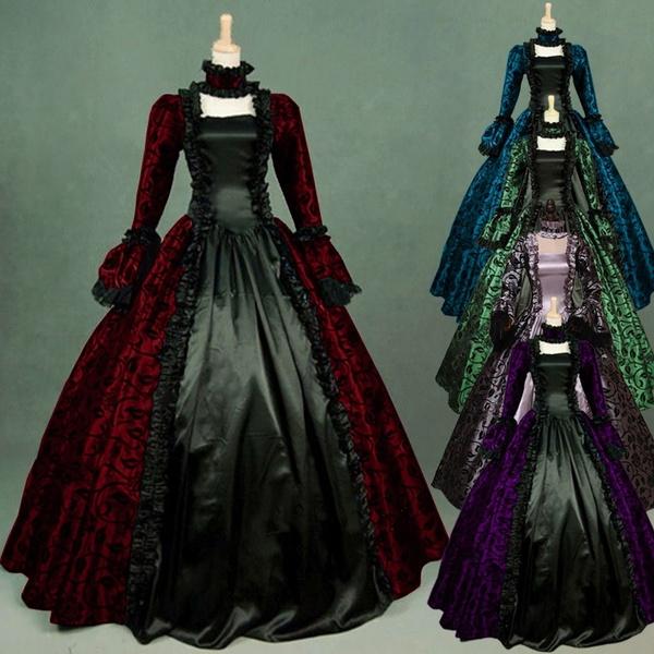 Fashion, Vintage Dresses, collectwaist, long dress