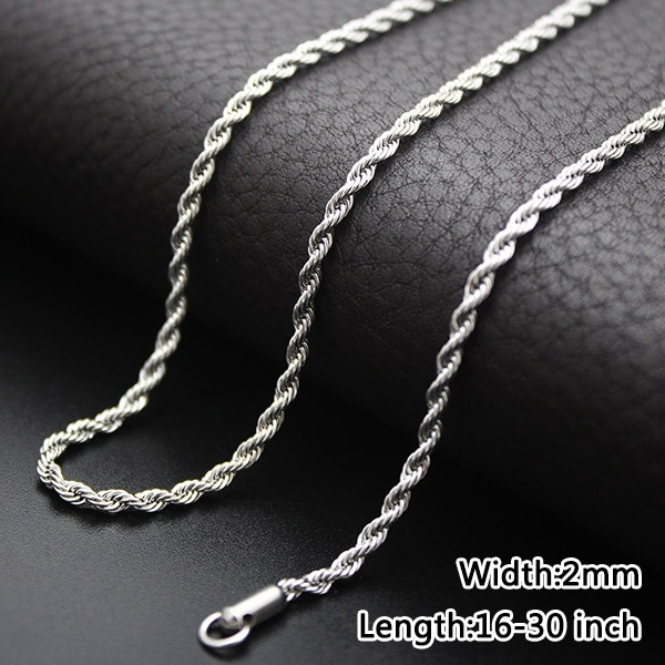 Chain Necklace Men And Women Fashion