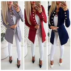 casual coat, Fashion, Blazer, Sleeve