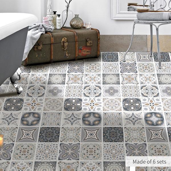 Vinyl Tiles Sticker Home Decor Living