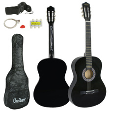 Guitars, black, guitarampbassaccessorie, 38inch