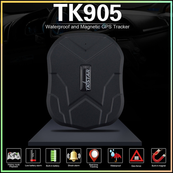 Car GPS Tracker TKSTAR TK905 5000mAh 60Days Standby Gps Tracker Device with  Powerful Magnet ,Free PC & APP (support IOS & Android ) Realtime Online