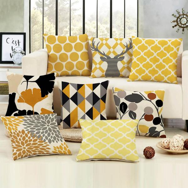 geometricpillowcover, art, Home Decor, Classics