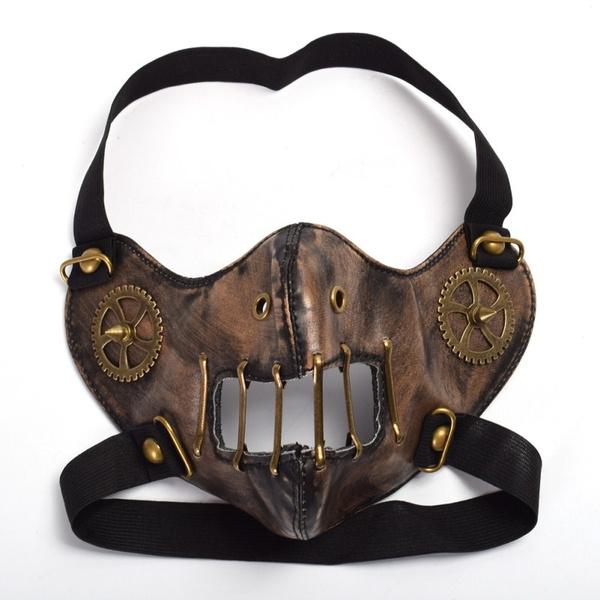 Goth, steampunkmask, gothicmask, Steampunk