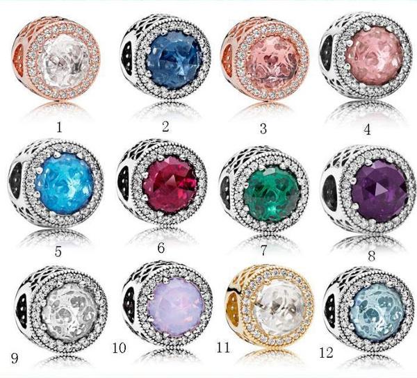 Sterling, Heart, charms for pandora bracelets, sterling silver