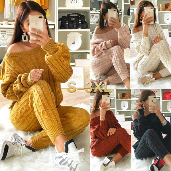 Fashion, pants, 2pcstracksuitset, Suits