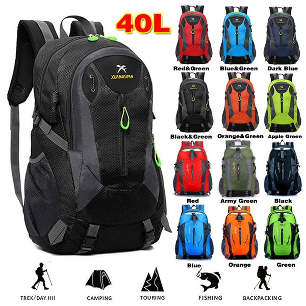 40L Outdoor Travel Backpack Sports Bag Camping Backpack Hiking Rucksack Students