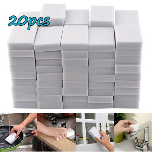 Magic Sponge Eraser Cleaner Home Kitchen Office Car Dirty Cleaning Tool