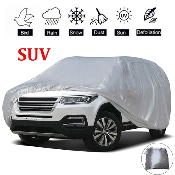 Car Cover Waterproof Dust Resistant UV Sun Protection Outdoor For All Sedan