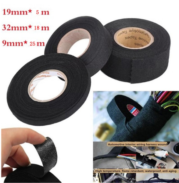 High Temperature Resistant Automotive Wiring Harness Tape 9mm15m
