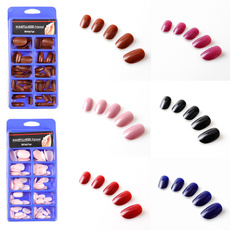 pinkoval, acrylic nails, ovalnailtip, Beauty