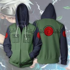 hooded, Cosplay, Hoodies, zippers