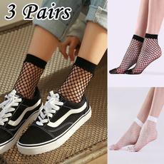 Summer, womensock, Fish Net, Socks