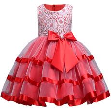 girls dress, girlweddingdre, Lace, princessdresse