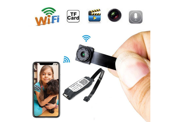 Mini 1080P Spy DIY Module Hidden P2P Camera WiFi Remote Monitor Nanny Cam Audios