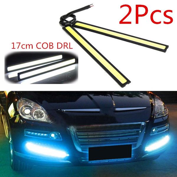 2pcs 17cm Universal 12V Daytime Running LED Strip Waterproof Car Styling Lights