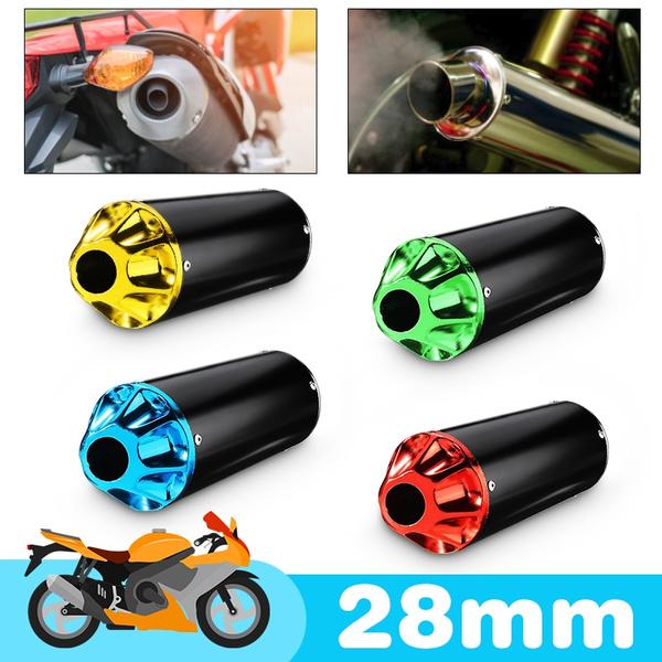 28mm Exhaust Muffler For 90cc 110cc 125cc Dirt Pit Bike TTR CRF50 SSR Thumpstar