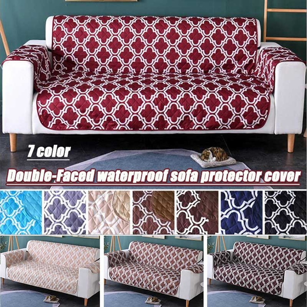 Astonishing Home Furniture Cover Waterproof Durable Sofa Protector Pet Dog Cat Quilted Sofa Cover Couch Protective Slip Soft Cover Pad Sofa Cushion Machost Co Dining Chair Design Ideas Machostcouk
