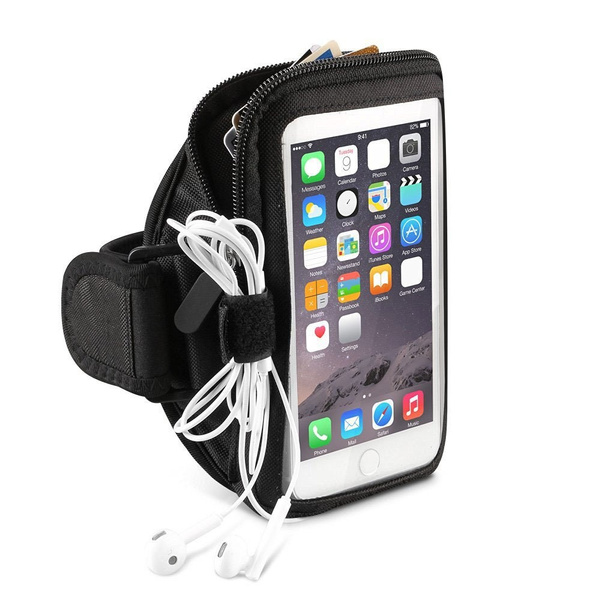 Gym Running Armband, Neoprene Touch Screen Phone Case Pouch Compatible  Samsung Galaxy S9 Plus / J7 Prime 2 / On7 Prime/Motorola One Power/Moto z3  /