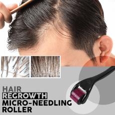 recedinghairline, microneedlingroller, baldspot, hair