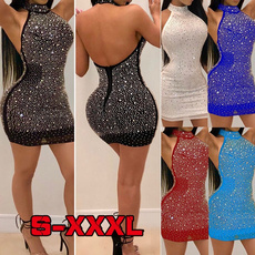 DIAMOND, partydressesforwomen, clubwear, Evening Dress