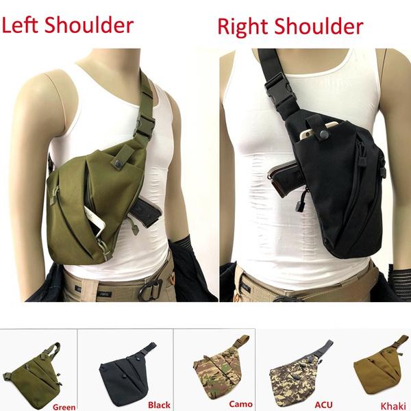 Anti Theft Hidden Multifunction Underarm Shoulder Bag Holster Storage Chest