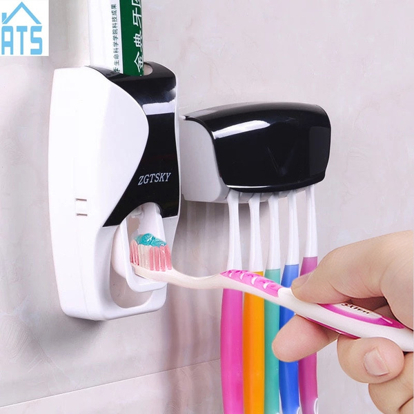 Bathroom, Set, Toothpaste, Accessories