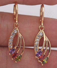 yellow gold, 18k gold, leaf, Jewelry