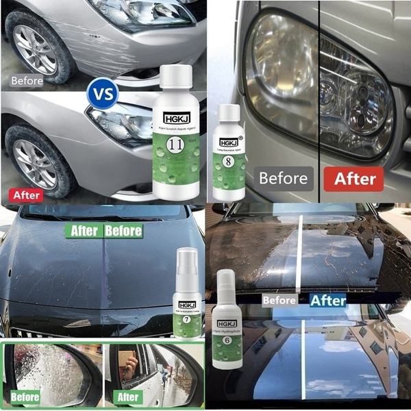 Paint For Cars >> Hgkj 20 50ml Multi Functional Car Care Scratch Repair Refurbishment Car Paint Coating Agent Headlight Restoration Car Polish