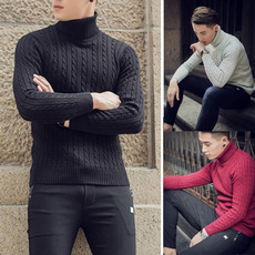 knitwear, slim, Winter, Sweaters