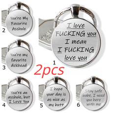Love, bestfriendkeychain, keychainforboyfriend, couplekeychain