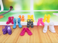 5pairs//lot Fashion Dolls Accessories Doll Shoes Sneakers Shoes For Ken Doll Toy