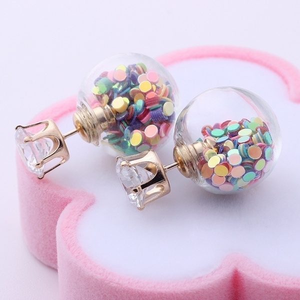 Crystal, Jewelry, Earring, zirconearring
