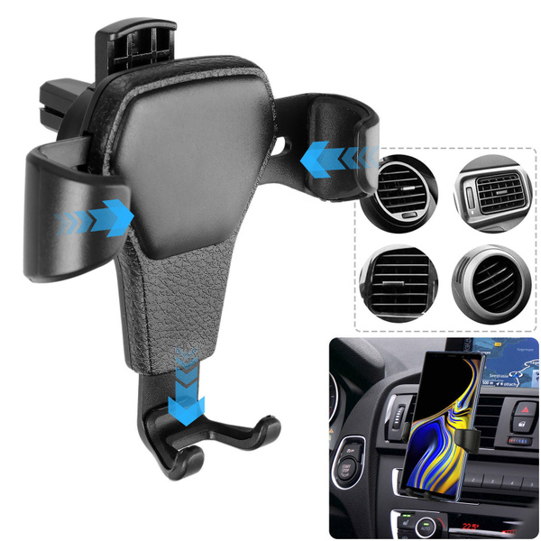 Universal Car Air Vent Phone Holder Mount Magnetic Cell Phone Stand Black