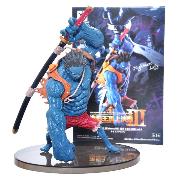 One Piece Blue Nightmare Monkey D Luffy Action Figure