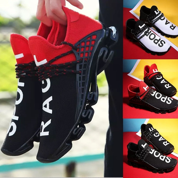 Fashion Men/'s Running Shoes Sports Outdoor Breathable Athletic Casual Sneakers