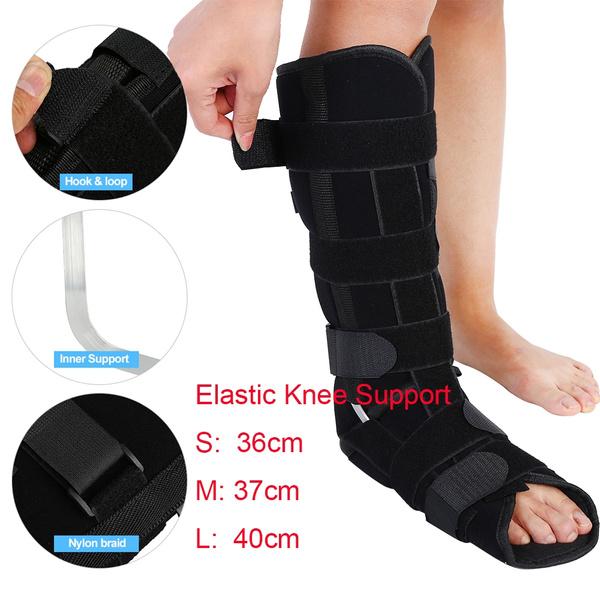 Unisex Elastic Knee Support Bandage Medical Knitted Leg Sleeve