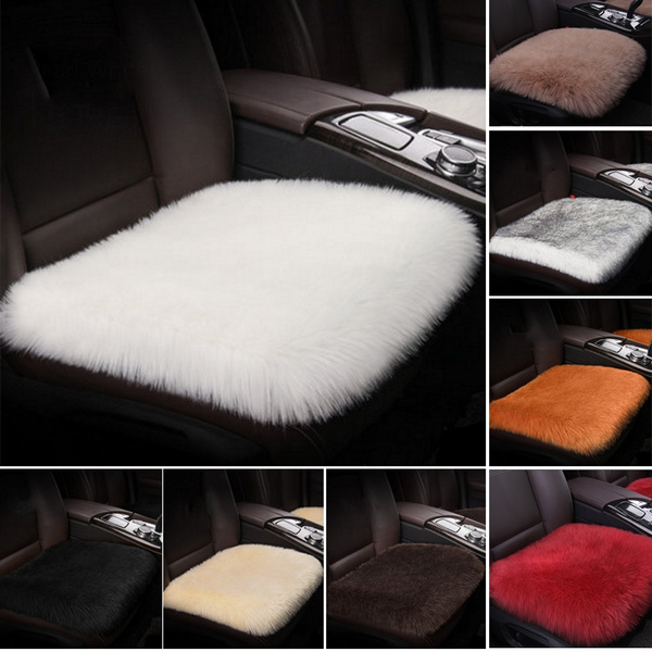 Fabulous Universal Winter Car Faux Fur Seat Cover Sheepskin Seat Car Interior Accessories Christmas Gift Pabps2019 Chair Design Images Pabps2019Com