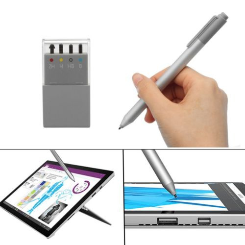 4 Tips Replacement Stylus Pen Nib Tip Kit for Microsoft Surface Pro 2H H HB B