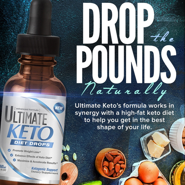 Diet Drops for Weight Loss and Ketogenic Support