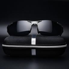 montatureperocchialiperuomo, occhialidasolerotondi, Polarized, Vintage