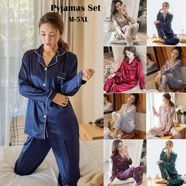 women's pajamas, nightwear, Plus Size, cute
