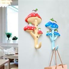 mushroomhook, childrensroomdecoration, Mushroom, Hooks