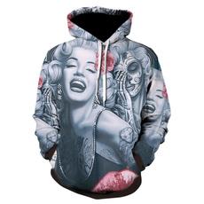 3D hoodies, hooded sweater, hooded, Hoodies